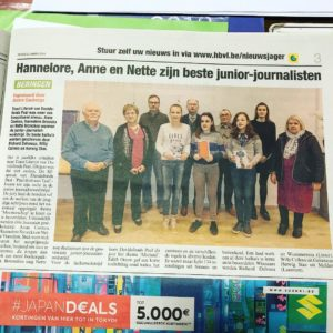 Beste junior-journalisten